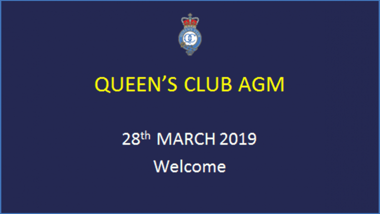 The AGM, 28 March 2019, is now viewable online