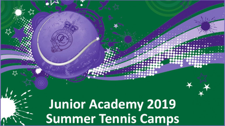 Junior Academy 2019 Summer Lawn Tennis Camps