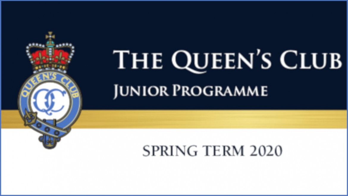 Junior Lawn Tennis, Squash and Real Tennis – Spring Term 2020