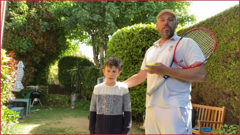Lawn Tennis Coaches Challenge – No. 4 'Volley to Volley Challenge'